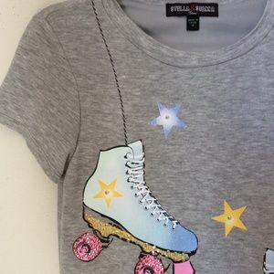 Bloomingdale's Tops - STELLA & SIENNA Roller Skate Derby Girl Tunic